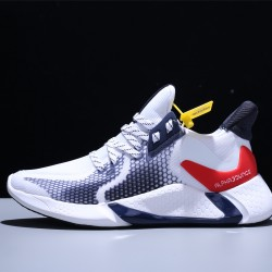 Adidas AlphaBounce Beyond M Hombre Mujer Zapatillas Running White Black Red CG5584