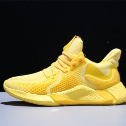 Adidas AlphaBounce Beyond M Hombre Mujer Zapatillas Running Yellow CG5585