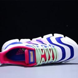 Adidas Climacool Ultraboost Hombre Zapatillas Running White Blue Pink