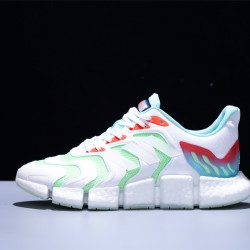 Adidas Climacool Ultraboost Hombre Mujer Zapatillas Running White Green