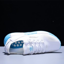 Adidas NMD_R1 V2 Boost 3M White Blue Hombre Mujer Zapatillas Running Mesh FX3901