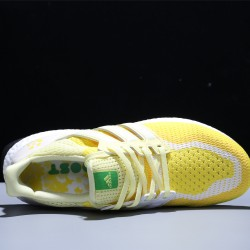 Adidas Ultra Boost 2.0 Hombre Mujer Zapatillas Running Yellow White