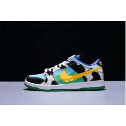 Ben Jerry x Nike SB Dunk Low Pro QSChunky Dunky Hombre Mujer Zapatillas Customized Zapatos CU3244-100