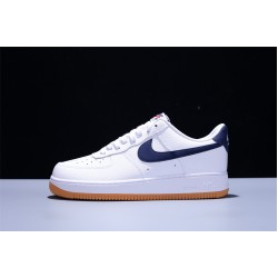 Dior x Nike Air Force 1 07 Low AF1 Hombre Mujer Zapatillas White Dark Blue