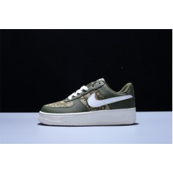 Dior x Nike Air Force 1 07 Low LV8 AF1 Hombre Mujer Zapatillas Green White
