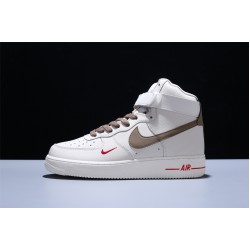 Nike AF1 Air Force 1 High Hombre Mujer Zapatillas Beige Brown Zapatos 808788-995