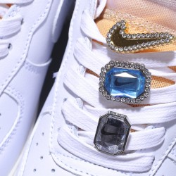 Nike Air Force 1 07 Low Lx Bling Hombre Mujer Zapatillas White Onyx Zapatos CZ8101-100