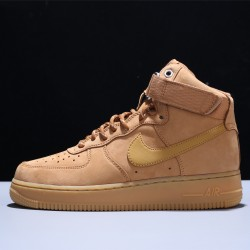 Nike Air Force 1 LV8 High Wheat Flax Hombre Mujer Zapatillas Brown Zapatos CJ9178-200