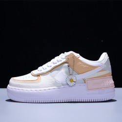 Nike Air Force 1 Shadow SE Mujer Zapatillas White Pink