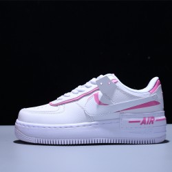 Nike Air Force 1 Shadow Mujer Zapatillas White Pink