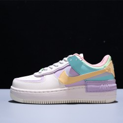 Nike Air Force 1 Shadow Mujer Zapatillas White Pink Purple