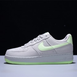 Nike Air Force 1'07 Low Hombre Mujer Zapatillas Wolf Grey Green Zapatos 315122-107