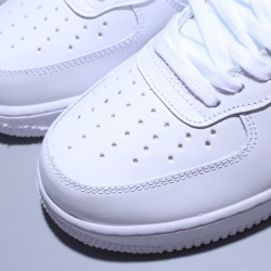 Nike Air Force High 1 07 Hombre Mujer Zapatillas White Yellow ZapatosAT4141-101
