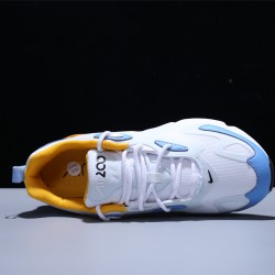 Nike Air Max 200 Zapatillas Running Hombre Mujer White Blue Yellow