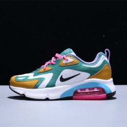 Nike Air Max 200 Zapatillas Running Hombre Mujer White Green Yellow