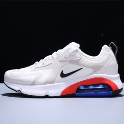 Nike Air Max 200 Zapatillas Running Hombre Mujer White Red Blue