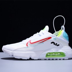 Nike Air Max 2090 Zapatillas Running Hombre Mujer White Fluo Green Blue