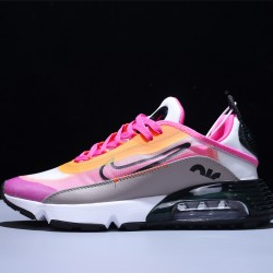 Nike Air Max 2090 Zapatillas Running Hombre Mujer White Pink