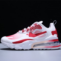 Nike Air Max 270 React Zapatillas Running RFID Hombre Mujer White Red