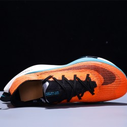 Nike Air Zoom Alphafly NEXT Hombre Mujer Zapatillas Running Orange Blue White