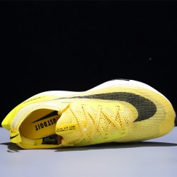 Nike Air Zoom Alphafly NEXT Hombre Mujer Zapatillas Running Yellow