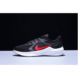 Nike Downshifter 10 Hombre Zapatillas Running Black Red White