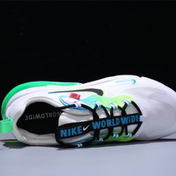 Nike React Air Max 270 Just Do It White Green Hombre Mujer Zapatillas Running CK6457-100