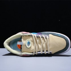 Nike SB Zoom Dunk Hihg Pro Low Hombre Mujer Zapatillas Pink Blue