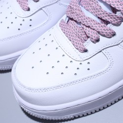 Nike Wmns Air Force 1 '07 MID Mujer Zapatillas White Pink Zapatos 366731-911