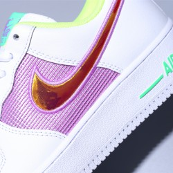 Nike Wmns Air Force 1 07 White Easter Zapatillas WHITE MULTI-COLOR Zapatos CW5592-100