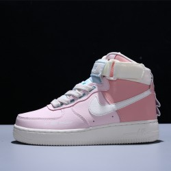 Nike Wmns Air Force 1 High Utility Force is Female Mujer Zapatillas Pink Zapatos CQ4810-621