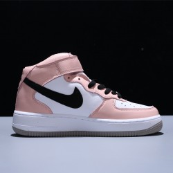 Nike Wmns Air Force 1 Mid 07 LV8 ID Pink Mujer Zapatillas White Pink Black Zapatos 808790-100