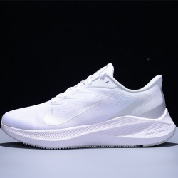 Nike Zoom Winflo 7 Hombre Mujer Zapatillas Running White Silver