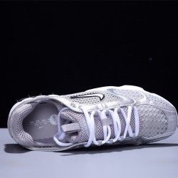 Stussy x Nike Air Zoom Spiridon Caged Hombre Mujer Zapatillas Running Silver White CD3613-001