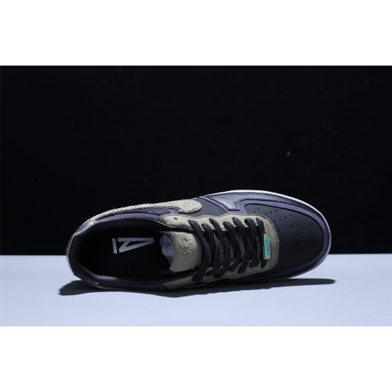 A Ma Maniére x Nike Air Force 1 07 AF1 Low Hombre Mujer Zapatillas Black