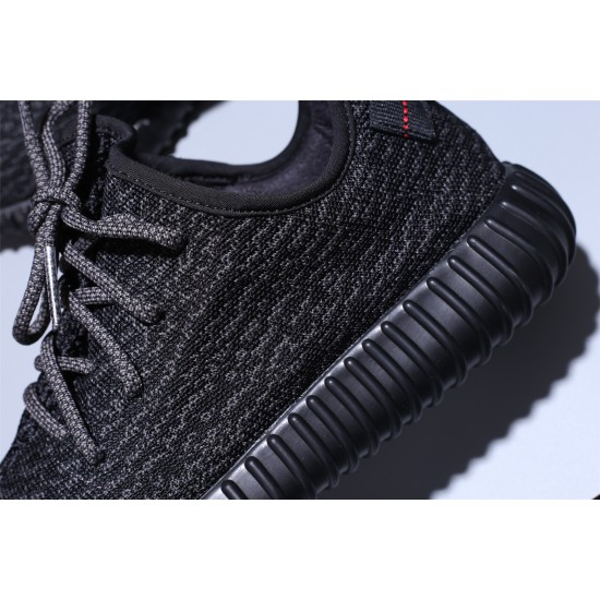 Adidas Yeezy Boost 350 Boost All Black Hombre Mujer Zapatillas Running BB5350